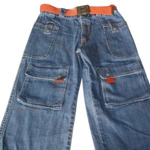 Belted Cargo Jeans Boys 5T NWT